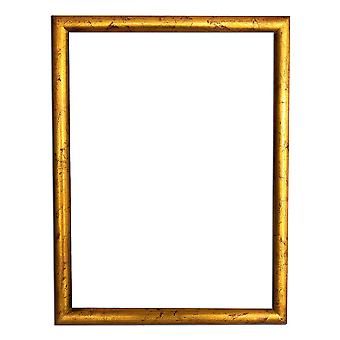 30 x 40 cm or 12 x 16 inches, photo frame in gold