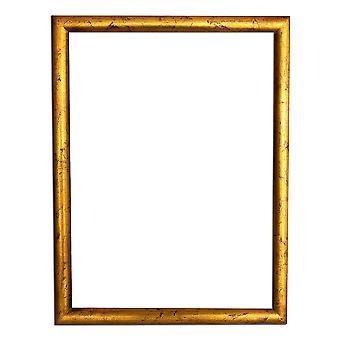 30 x 40 cm o 12 x 16 pulgadas, marco de foto en oro