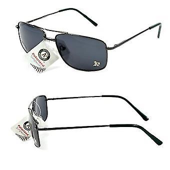 Oakland Athletics MLB occhiali da sole polarizzati con montatura in metallo