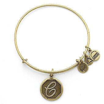 Alex et Ani initiale C or bracelet A13EB14CG