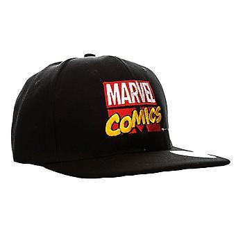 Marvel Comics retro logo SnapBack Cap