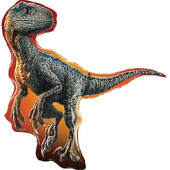 Qualatex Jurassic World Raptor Supershape Foil Balloon