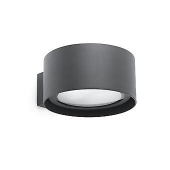 Faro - Quart Dark Grey LED Outdoor Wall Light FARO70579