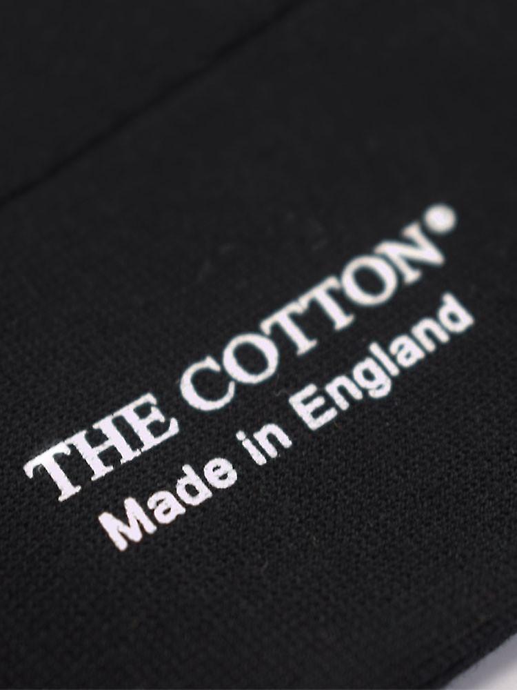 Sea island cotton socks – black