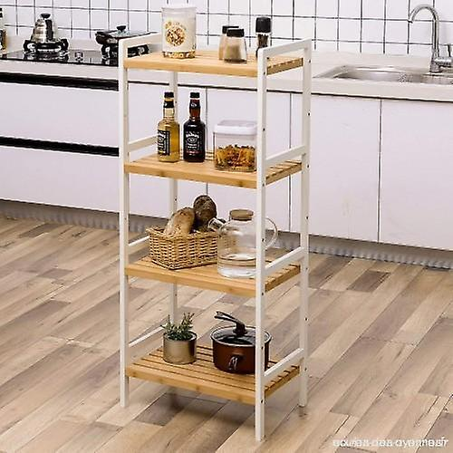 Bamboo Rack White/Natural 4 ply