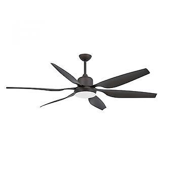 Risparmio energetico-ventilatore a soffitto Tilos con luce e telecomando