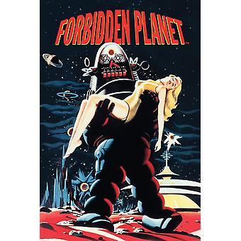 Poster - Studio B - Forbidden Planet Wall Art P5093