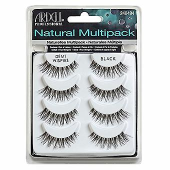 Ardell Multipack Demi Wispies Black Easy To Apply Full False Eye Lashes