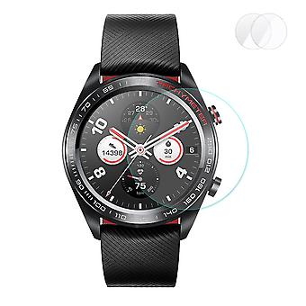 Enkay 2stk 0.2 mm 9h 2.15 d hærdet glas ur skærm Protector til Huawei Honor Watch Magic Series