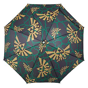 Umbrella - Zelda - All Over Print Logos LED New um62g5ntn