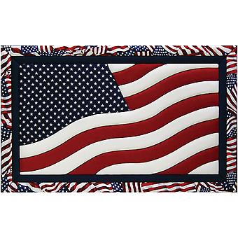 American Flag Quilt Magic Kit 12