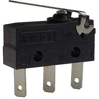 Microswitch 250 Vac 6 A Zippy SW-05S-01B0-Z IP67 momentary 1 pc(s)