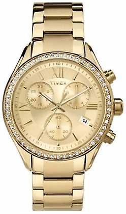 Timex Womens Miami PVD Plated Chronograph TW2P66900 Watch