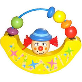 Cladellas  Rattle Wood 13Cm.Payaso (Toys , Preschool , Babies , Early Childhood Toys)