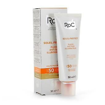 Roc Protect Soleil 50 + anti-wrinkle Fluid 50 Ml