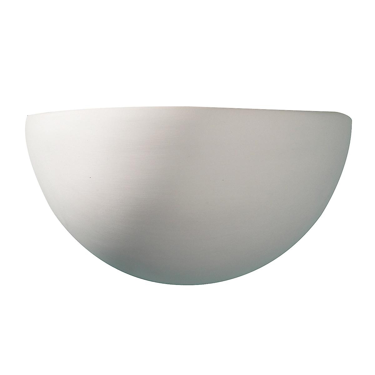 Dar MAR0748 Marino Ceramic Wall Washer Light - Double Insulated