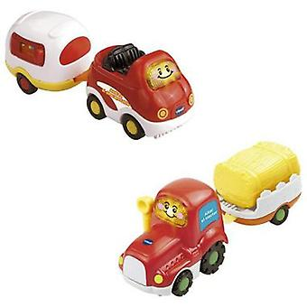 Vtech Tut Tut Bolidos With Assorted Trailer (Spanish version)