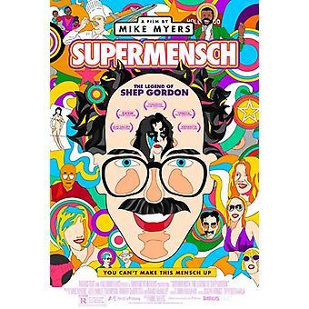 Supermensch la légende de l'affiche du film Shep Gordon (11 x 17)