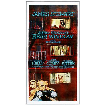 Rear Window Movie Poster Masterprint