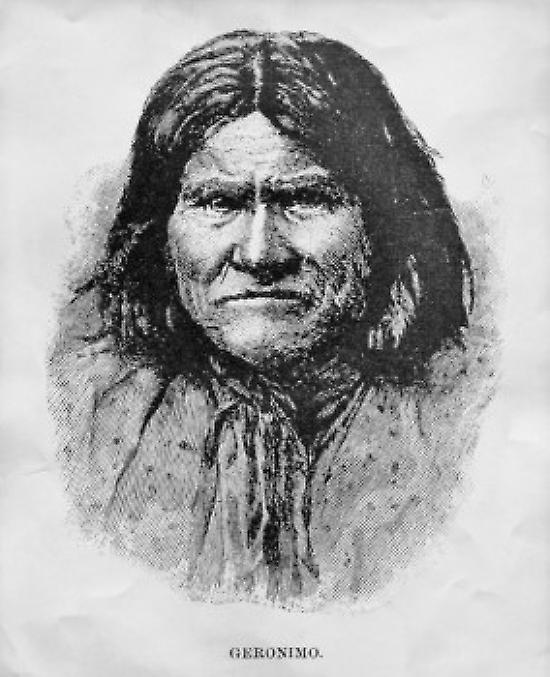 Geronimo (1829-1909) Apache Indian Leader Poster Print (24 x 36)
