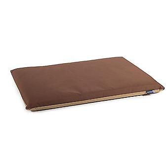Sömnig tassar vattentät Pad brun/beige 107 X69cm