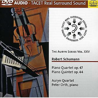 R. Schumann - Schumann: Klaver kvartetten, Op. 47; Klaver kvintet, Op. 44 [DVD-Audio] USA import