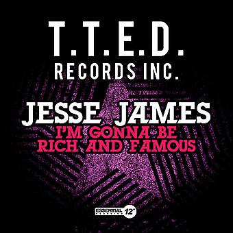 Jesse James - I'm Gonna Be Rich & Famous USA import