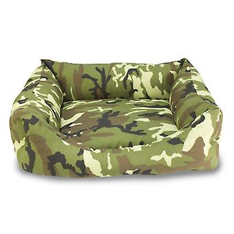 Arquivet Camouflage 50 cm square bed (Dogs , Bedding , Beds)