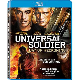 Universal Soldier: Day of Reckoning [BLU-RAY] USA import