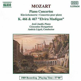 WA Mozart - Mozart: Piano Concertos nr. 20 & 21 [DVD] USA import