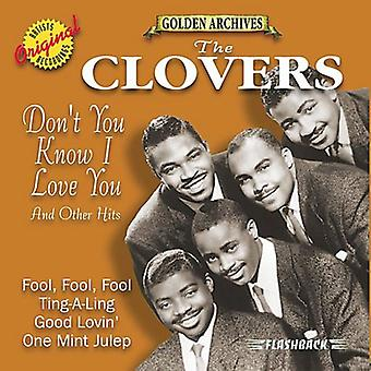 Clovers - Don't You Know I Love You [CD] USA import