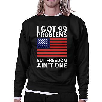 But Freedom Ain't One Unisex Black Patriotic Gift Sweatshirt Ideas