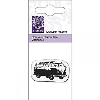 Knorr Prandall Old School Bus Mini Clear Stamp