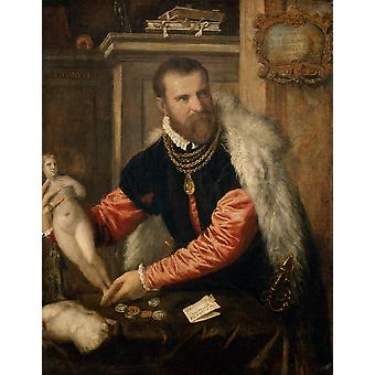 Titian - Model Poster Print Giclee