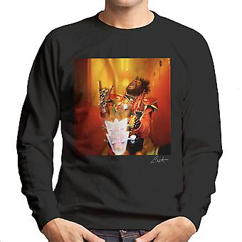 George Clinton And Parliament Funkadelic Devil Horns Men's Sweatshirt