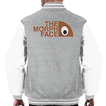 Morph ansikt menn Varsity jakke