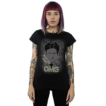 Amerikanske guder kvinders hr. verden OMG T-Shirt