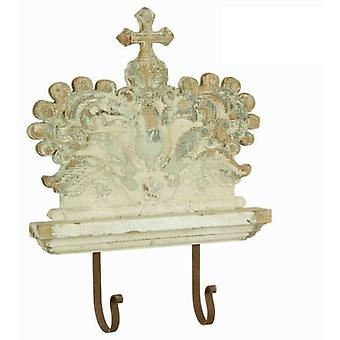 Bigbuy Crown wall hanger by Craften Wood (Home , Decoration , Crutches)