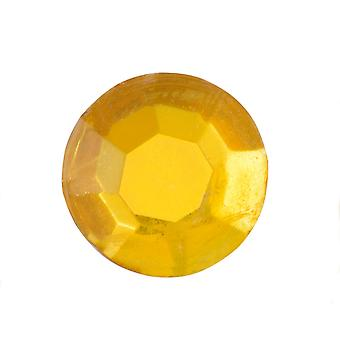 24 Gold Self Adhesive Crystal Jems for Crafts