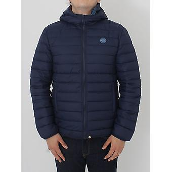 Pretty Green Barker Quilted Jacket - Navy