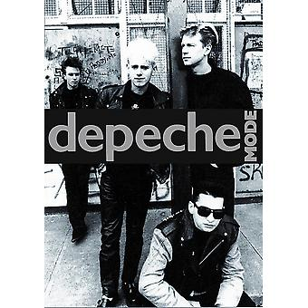 Depeche Mode Group BW Poster Poster Print