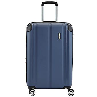 Travelite city 4 wheels ABS hard shell trolley 4 wheel suitcase 68 cm M