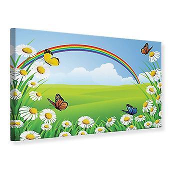 Lærred Udskriv farverige regnbuen