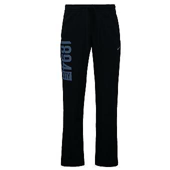 2016-2017 Man City Nike Core Cuff Fleece Pants (Navy )