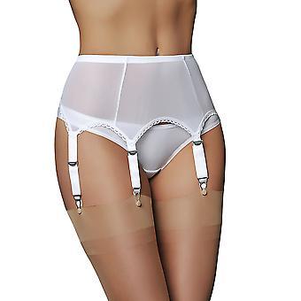 بيضاء اللون الصلبة الرباط الحزام 6 حزام سوسبيندير الحزام أحلام النايلون NDL61 المرأة