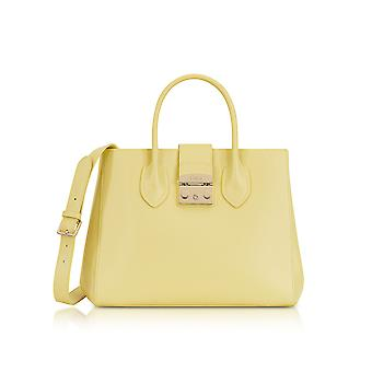 FURLA ladies 920432 yellow leather handbags