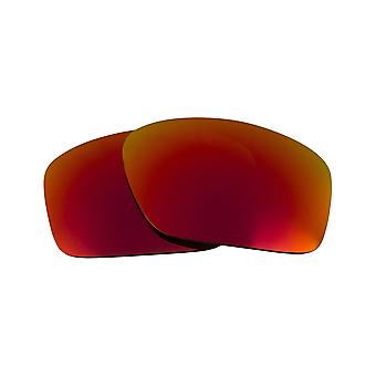Replacement Lenses Compatible with OAKLEY Scalpel Non-Polarized Red Mirror