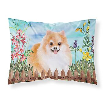 Pomeranian #2 Spring Fabric Standard Pillowcase