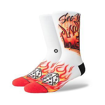 Holdning Airbrush helvede besætningen sokker