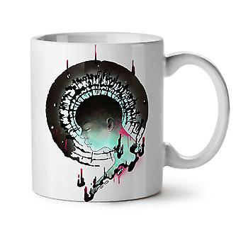 Art Girl Mind Fashion NEW White Tea Coffee Ceramic Mug 11 oz | Wellcoda